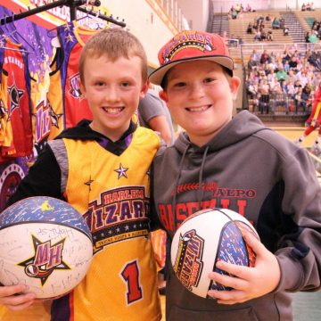 Harlem Wizards help raise money for Indiana public schools